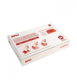 Forra Livros Ajustavel Apli 310x530mm Transp 130mic 100un