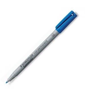 Marcador Nao Perm. Medio Lumocolor 1.0mm 315-3 Azul un
