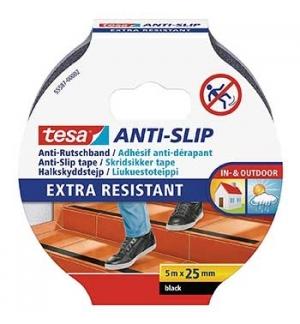 Fita Adesiva Tesa Anti-Derrapante 25mmx5mts Preto