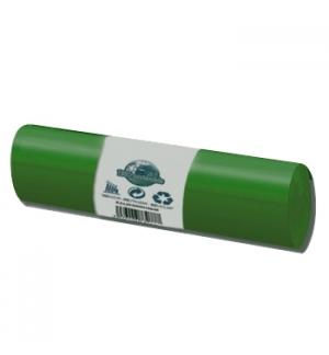 Sacos Lixo 100/120L Verde 20Kg 85x105cm Rolo 20un
