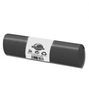 Sacos Lixo 100/120L Preto 20Kg 85x105cm Rolo 20un