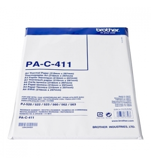 Papel Termico A4 p/ Brother PJ622/623/662/663 Pack 100un