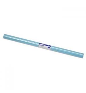 Papel Lustro Rolo 25 Folhas 50x65 Azul Palido