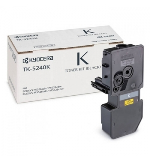 Toner Ecosys M5526/P5026 (TK5240K) Preto