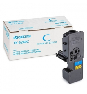 Toner Ecosys M5526/P5026 (TK5240C) Azul