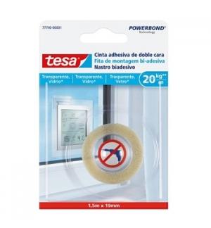 Fita Montagem Bi-adesiva Tesa Powerbond 20kg 19mmx1,5mts