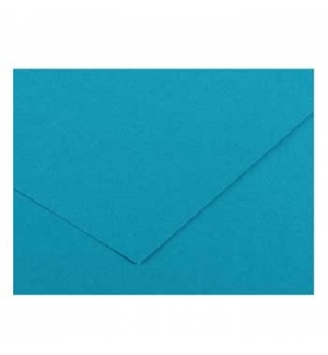 Cartolina 185gr 1 Folha 50x65cm Canson Iris Azul Maldivas