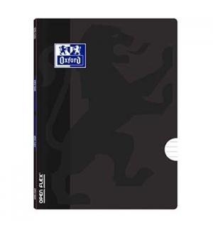 Caderno Agrafado A4 Oxford Openflex  Pautado 90gr 48Fls Pret