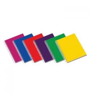 Caderno Espiral C/PP Ambar School A4 Quadriculado 70g 100Fls