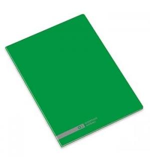 Caderno Agrafado Ambar School A5 Quadri 70gr 48Fls Verde