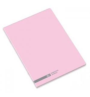 Caderno Agrafado Ambar School A5 Quadri 70gr 48Fls Rosa