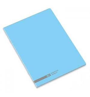 Caderno Agrafado Ambar School A5 Quadri 70gr 48Fls Azul