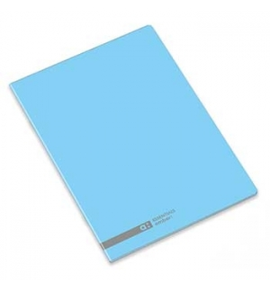 Caderno Agrafado Ambar School A5 Pautado 70gr 48Fls Azul