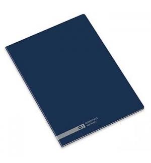 Caderno Agrafado Ambar School A4 Quadri 70gr 48Fls Marinho