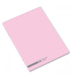 Caderno Agrafado Ambar School A4 Pautado 70gr 48Fls Rosa