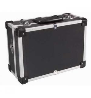 Mala de aluminio cor preta 320x230x155mm