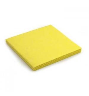 Panos Multiusos 40x38cm Suave Amarelo 1un