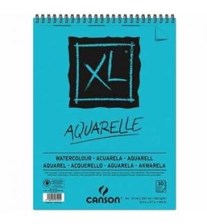 Bloco Espiralado Canson XL Aquarelle A4 300gr 30 Folhas