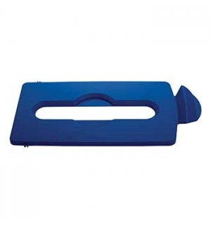 Tampa Slim Jim p/ Kit Reciclagem p/ Papel Azul