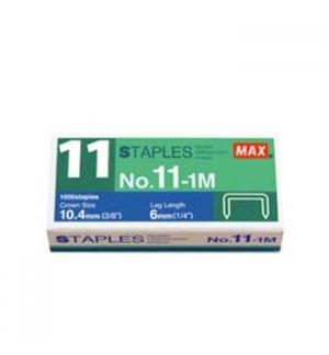 Agrafos 11 MAX (35 Folhas) Cx1000 - 1un