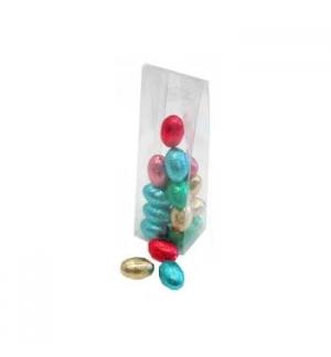Caixa PVC Transparente com Pala 50X40X155 10un