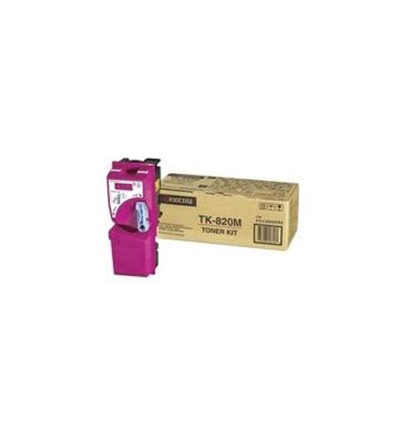 Toner LD FS-8100DN TK820M Magenta