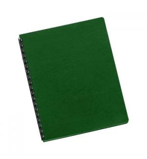 Capas Encadernar Delta Couro 250gr 100Folhas A4 Verde Escuro