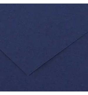 Cartolina 185gr 1 Folha 50x65cm Canson Iris Azul Ultramar