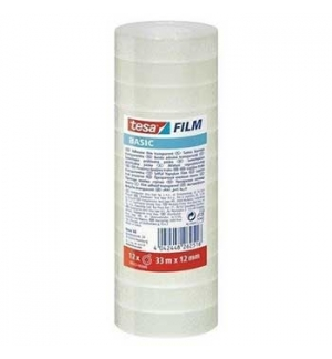 Fita Adesiva 12mmx33mts Clear Tesa Basic – 1unid