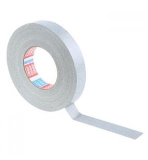 Fita Adesiva Tesa Tecido Revestida Acrilico 50mmx25mt Cinza