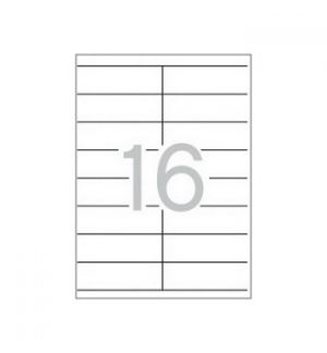 Etiquetas 105x35 Apli 100 Folhas A4 1600un