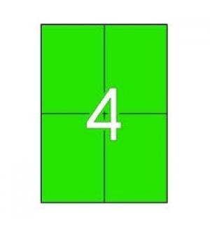Etiquetas 105x148 Apli 20 Folhas A4 80un Verde