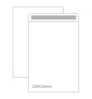 Envelopes Saco 229x324mm Branco 100gr Autodex Cx250un