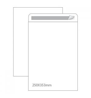 Envelopes Saco 250x353mm Branco 90gr Autodex Cx250un