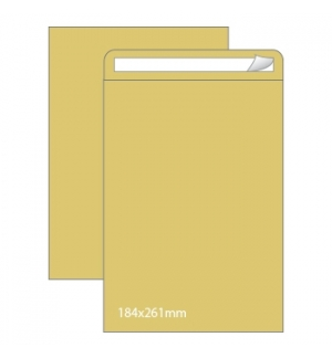 Envelopes Saco 184x261mm Kraft 90gr Autodex Cx250un