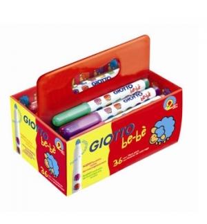 Marcador Feltro Giotto Be-Be Schoolpack 36un