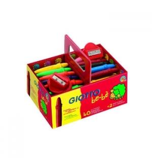 Lapis de Cera Giotto Be-Be Super Schoolpack 40un+ 2 Afia Lap