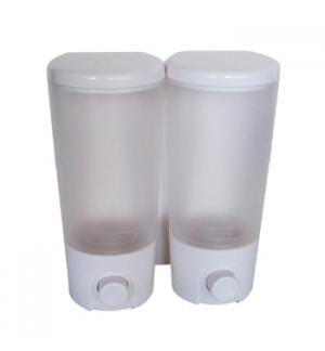 Saboneteira Plastica 2x400ml PW-9102