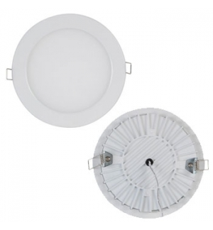 Projetor de Encastrar LED 10W - Modelo Redondo Branco