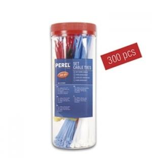 Abraçadeira Plástica (A x B) Tamanhos e Cores Sortidas 300un