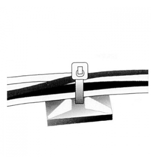 Adesivo Fixacao p/Abracadeira plastica