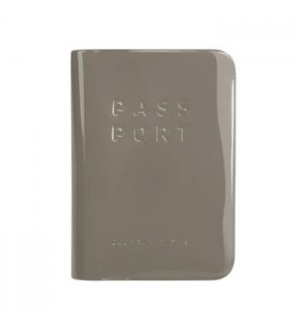 Capa para Passaporte Cinzento