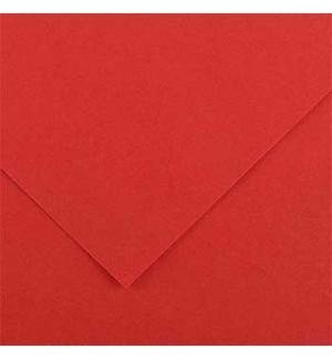 Cartolina 185gr 1 Folha 50x65cm Canson Iris Vermelho