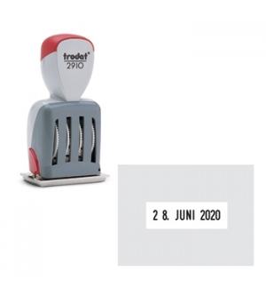 Datador de Chapa Trodat 2910/P02 51mmx38mm