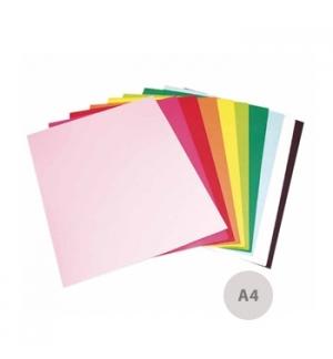 Cartolina A4 170gr 10 Folhas Cores Intensas Sortidas