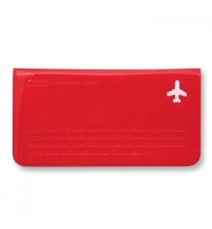Bolsa Vermelho 235x125mm