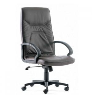 Cadeira Direção Roma Costa Alta Rodada Oscilante Preto