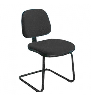 Cadeira Operativa Eco Costa Media Patim Cor Preto