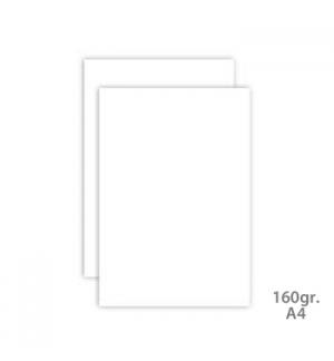 Cartolina 160gr 1 Folha A4 Branca