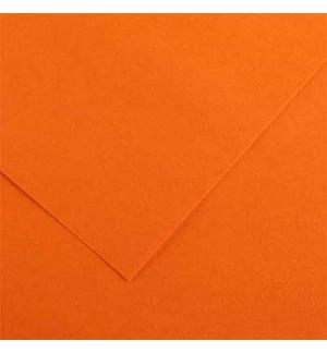 Cartolina 185gr 1 Folha 50x65cm Canson Iris Laranja